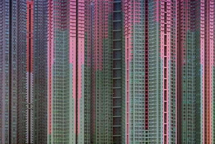 Городская жизнь в фотозарисовках Michael Wolf