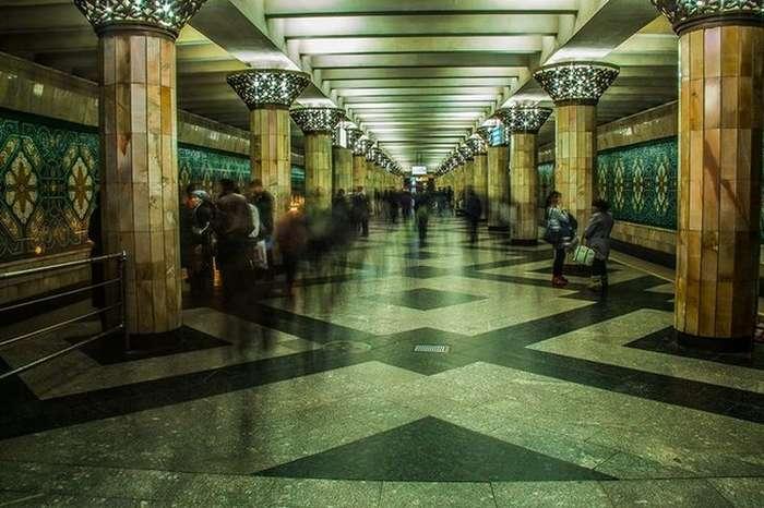 Прогулка по Ташкентскому метро