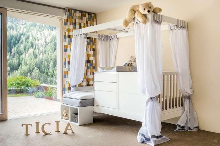 Кровать, растущая с ребёнком