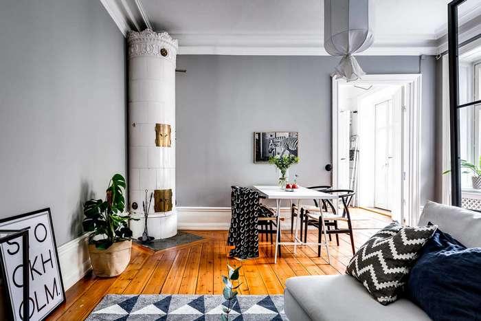 дизайн квартиры в скандинавском стиле Орловской
