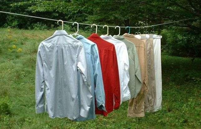 Как правильно сушить одежду после стирки