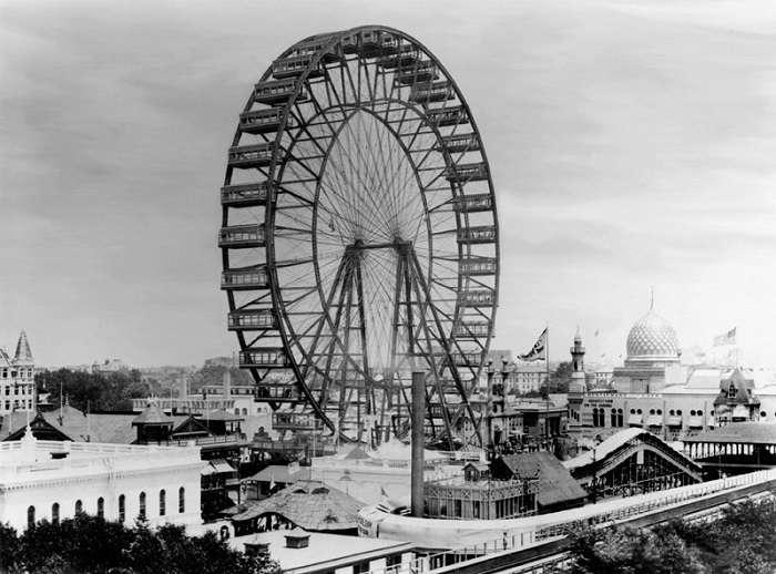 История первого в мире колеса обозрения