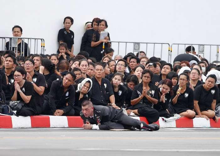 В Таиланде прощаются с покойным королем