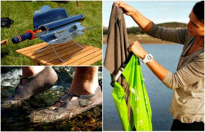 17 гениальных изобретений, которые пригодятся туристам и любителям отдыха на природе