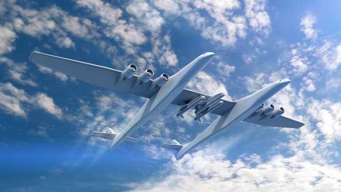 Представлен самый большой в мире самолёт с самыми мощными двигателями в истории авиации