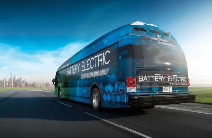 Электроавтобус, который может проехать на одной зарядке больше, чем любой электрокар