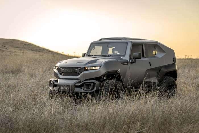 Jeep Wrangler превратили в самый гламурный в мире внедорожник