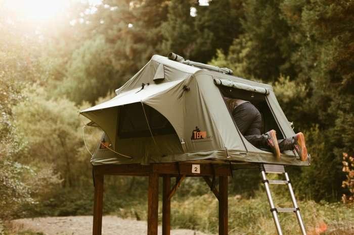 Самая безопасная в мире палатка, в которой не страшны насекомые, хищники и наводнения