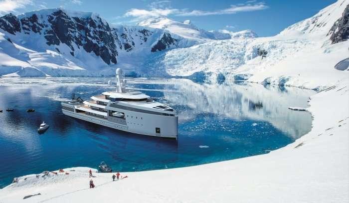 Океанская яхта SeaXplorer, которой даже айсберги нипочем