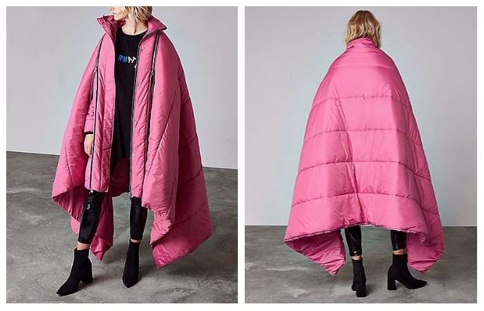 Модное одеяло: как выглядит самая тёплая куртка будущей зимы