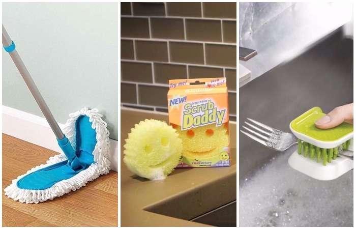 Для чашек, окон и дверей: 10 доступных девайсов, которые сделают уборку быстрой и приятной