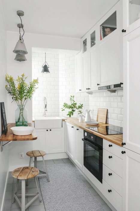 Ремонт в маленькой кухне: 5 самых удачных стилей, которые подойдут для наших -хрущевок-