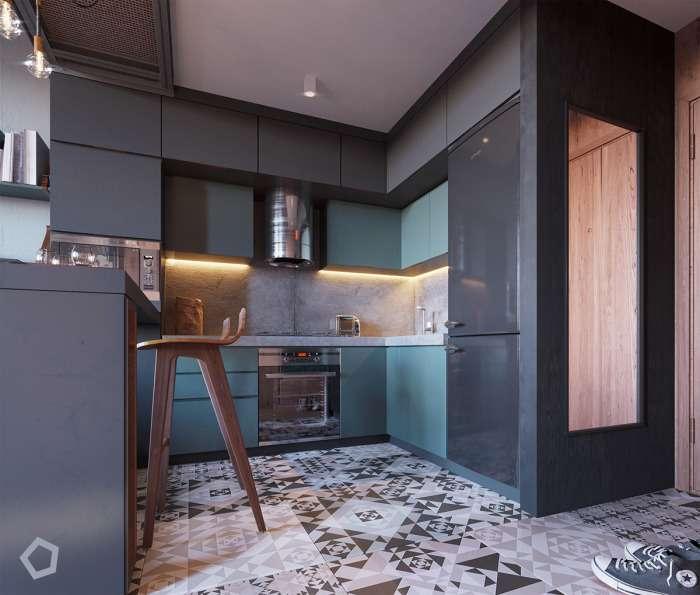 Как эффективно распределить пространство в квартире площадью менее 30 -квадратов-