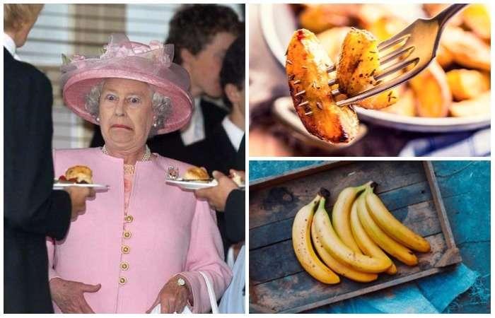 Не по-королевски: 10 продуктов, которые никогда не появятся на столе Елизаветы II
