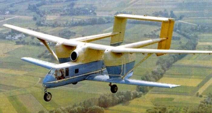 -Взлетит или нет?-: 7 реальных самолетов, которые выглядят очень странно