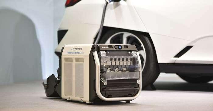 Розетка, которая всегда под рукой: Honda создала банк энергии для дома и автомобиля