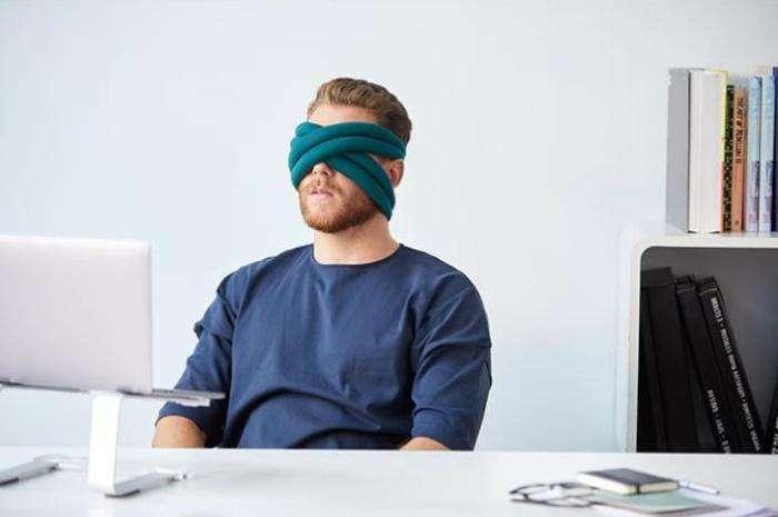 Никого нет дома: Повязка для глаз, которая заменит подушку и подарит уединение