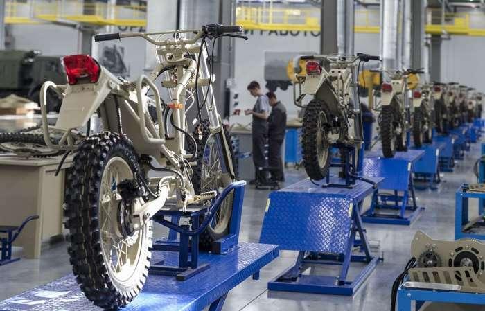 Не оружием единым: -Калашников- создает военный мотоцикл на электродвигателе