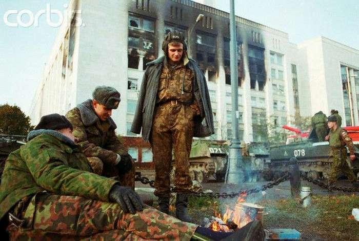 Холодный октябрь 1993 года