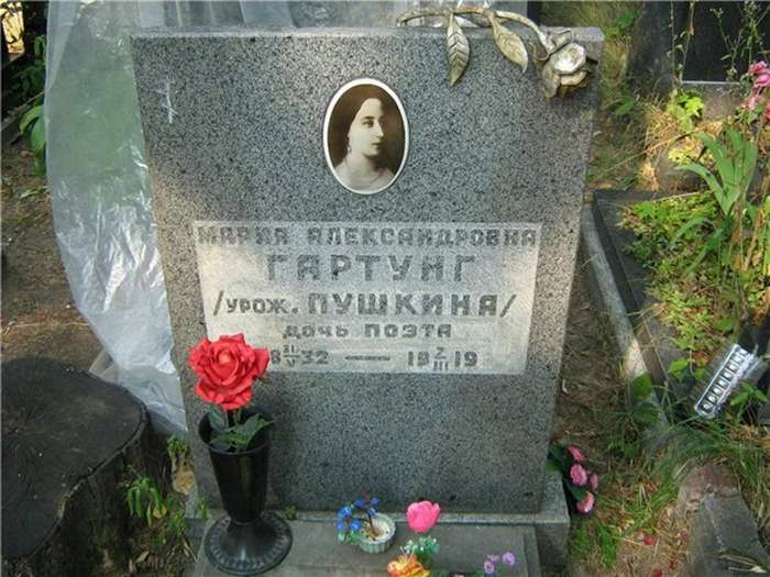 Мария Александровна Гартунг &8212; дочь Пушкина