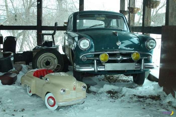 Восстановление педального -Урала-