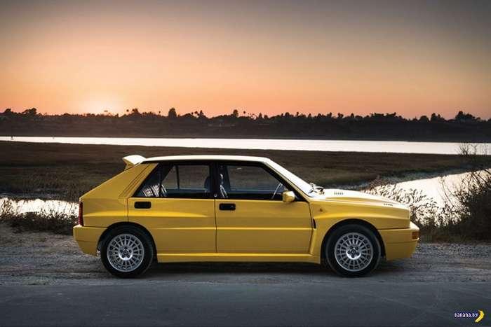 Банановая 1992 Lancia Delta HF Integrale Evoluzione