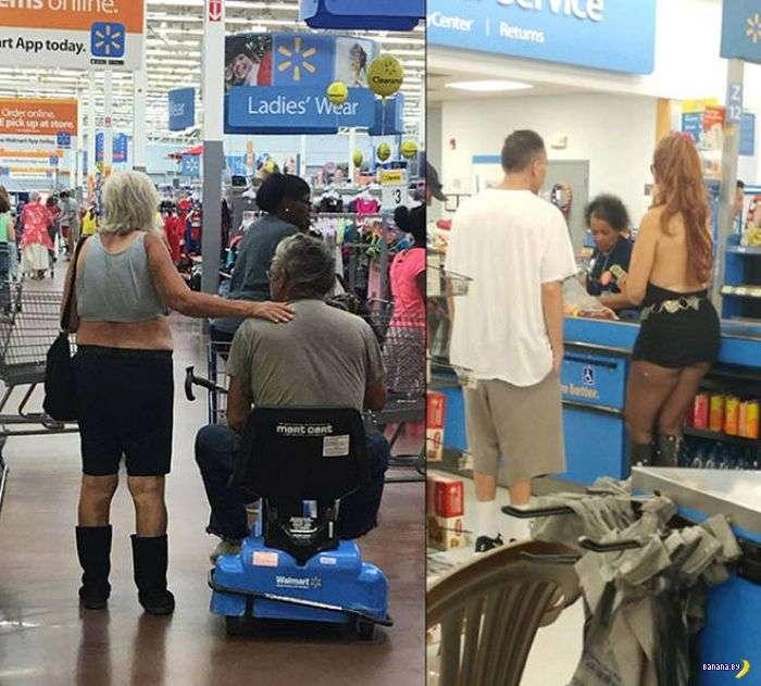 Яркие модники из Walmart - 12