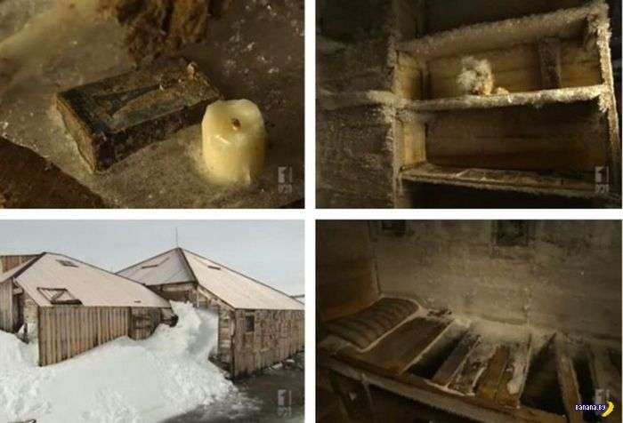 Заброшенные антарктические станции
