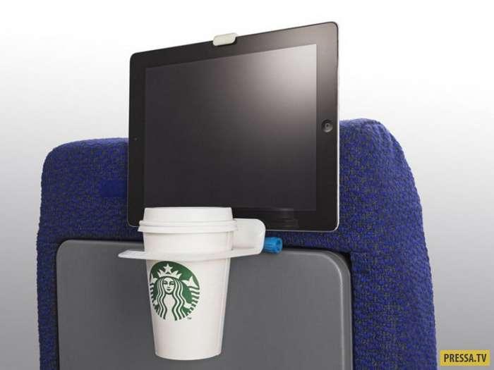 Новые устройства для удобства пассажиров во время авиаперелетов (11 фото)