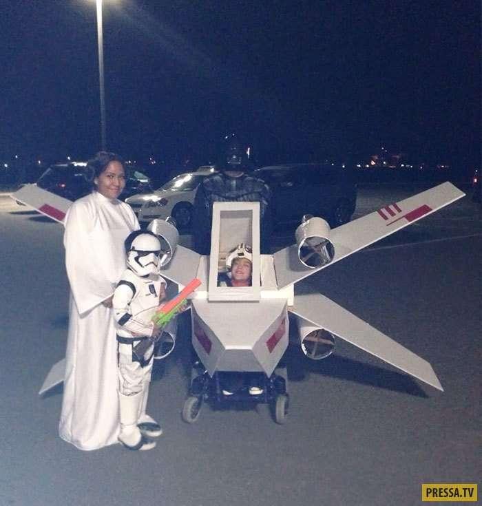 Люди с ограниченными возможностями в зрелищных костюмах на Halloween (30 фото)