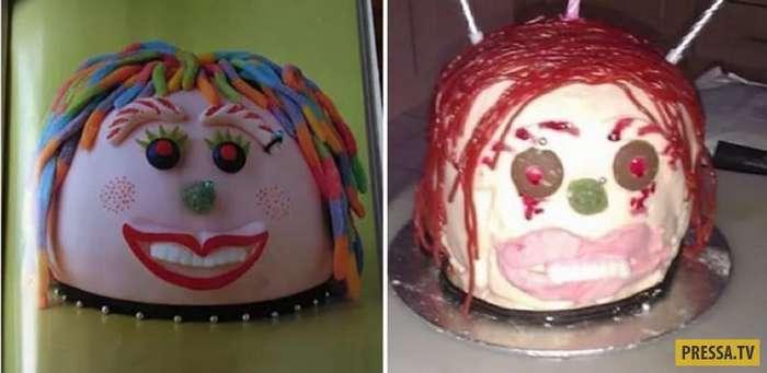 С такими десертами можно не смотреть фильмы ужасов! (27 фото)