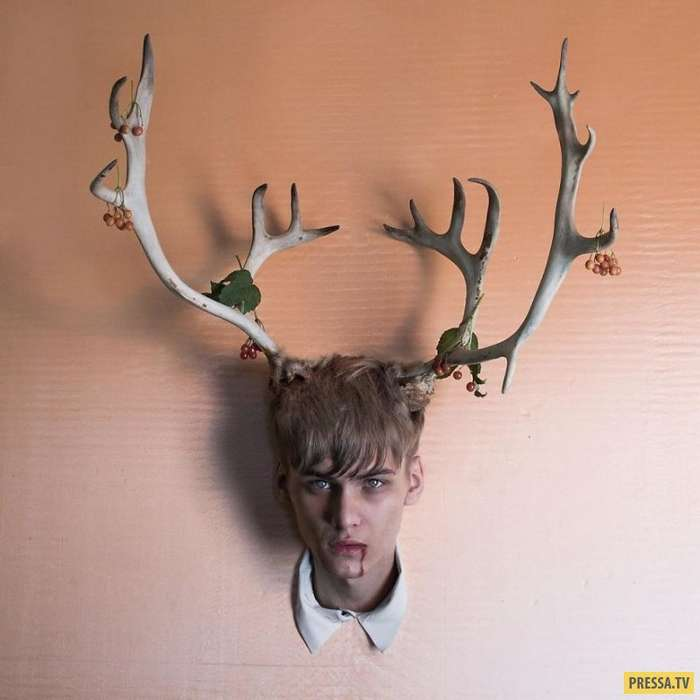 Фотошоп этого сюрреалиста из России будет сниться вам в кошмарах (25 фото)