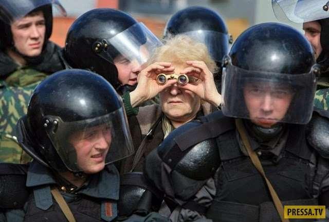 Бдительная бабушка