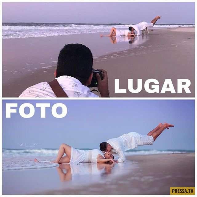 Фотограф раскрыл всю подноготную зрелищных фотографий (38 фото)