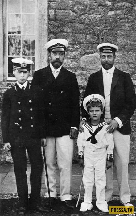 Страницы истории: Семью Романовых можно было спасти? Чего испугался Георг V (9 фото)
