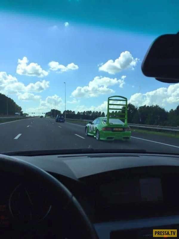 Самый дикий и удивительный тюнинг автомобилей с улиц Канады и США (34 фото)