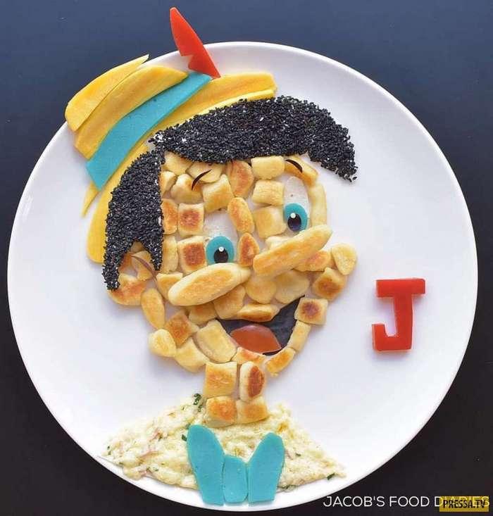 Эта мамочка создает мультяшные завтраки, которые съест любой привереда! (20 фото)