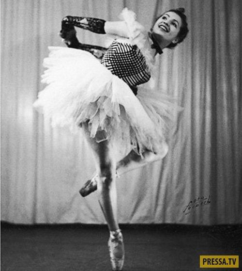 Страницы истории: Смертельный стриптиз легендарной еврейской балерины Франциски Манн в Освенциме (10 фото)