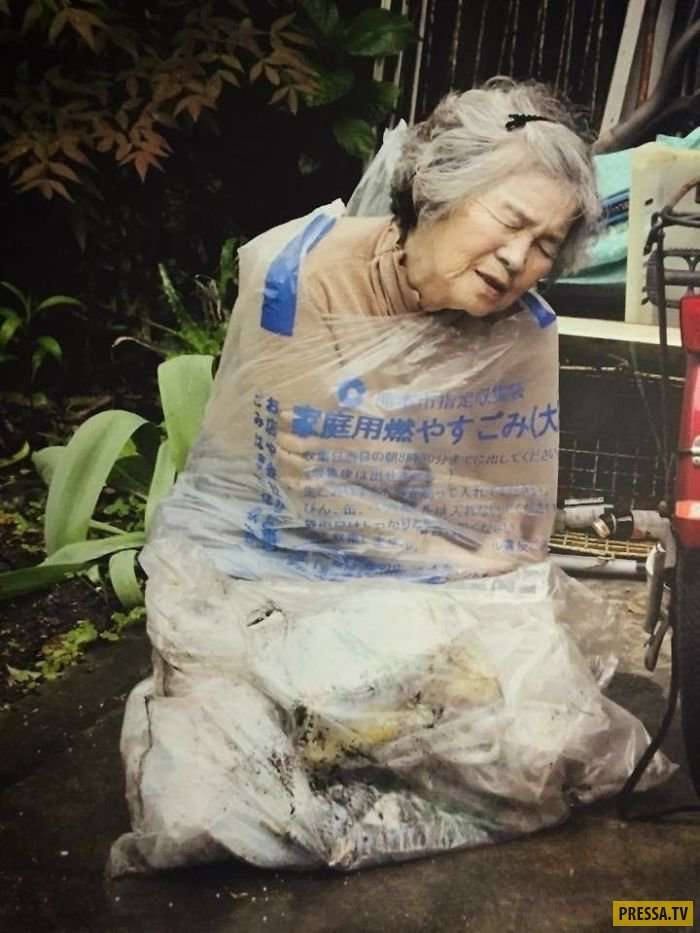 Бабулька из Японии в 89 лет научилась фотошопу и теперь делает собственные выставки! (13 фото)