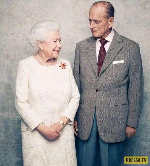 Платиновая свадьба Елизаветы II и принца Филиппа (16 фото)