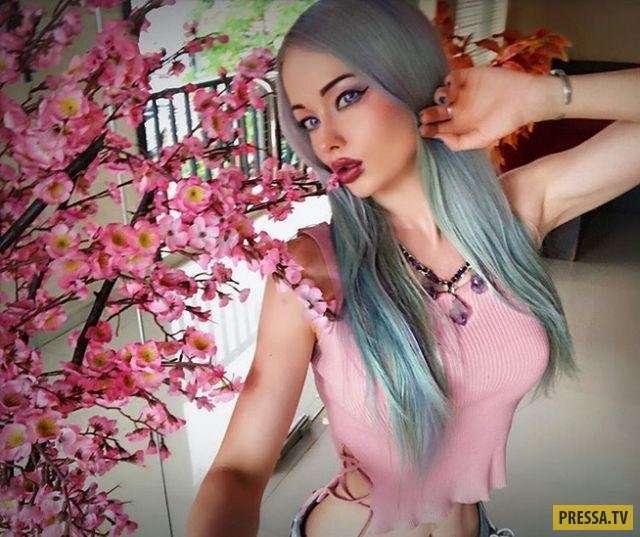 Новые фотографии Валерии Лукьяновой - Барби из Одессы (5 фото)