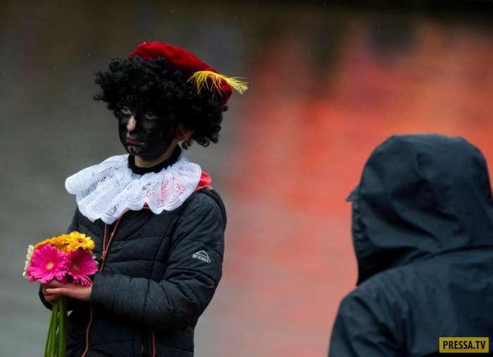 Black Pete - традиционный, но не обычный детский карнавал в Голландии (11 фото)