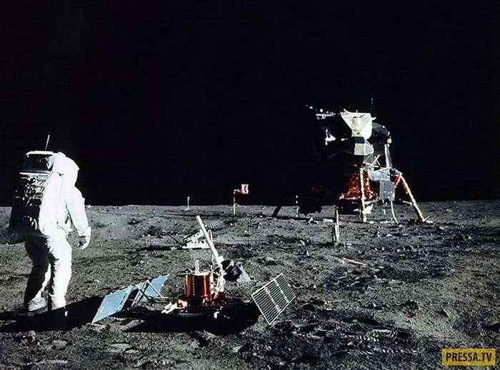 И все-таки, высадка на Луну мистификация? (6 фото + видео)