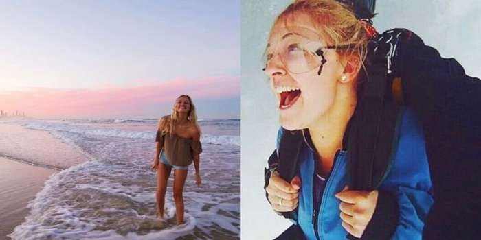 -Девушка, которая упала с неба-: 20-летняя австралийка выжила после неудачного прыжка с парашютом-8 фото-
