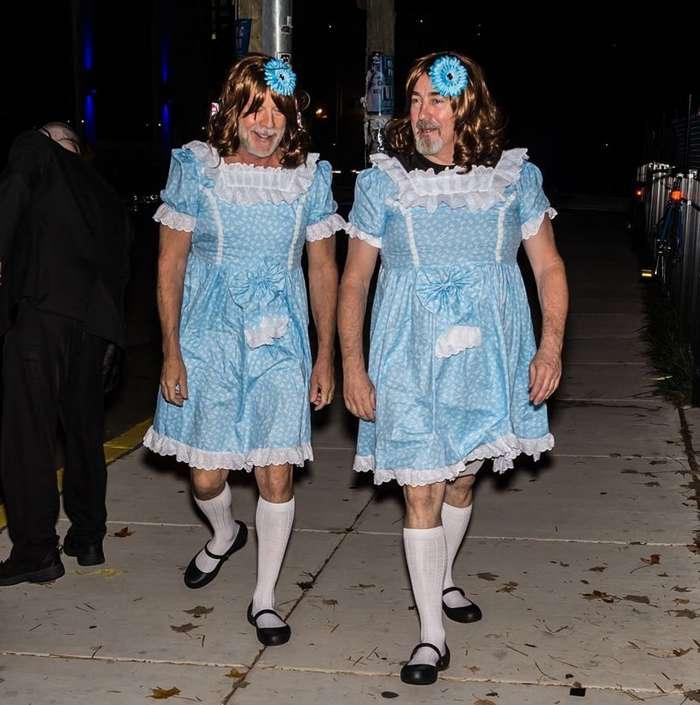 62-летний Брюс Уиллис сразил всех наповал своим костюмом на Хэллоуин-5 фото-
