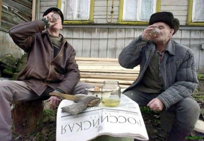 -Пьяная деревня- или всего лишь пару цифр перепутал-1 фото-