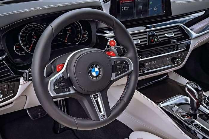 Новый BMW M5: полный привод, разгон 0-100 км/ч за 3.4 секунды и 118 тысяч евро-6 фото-