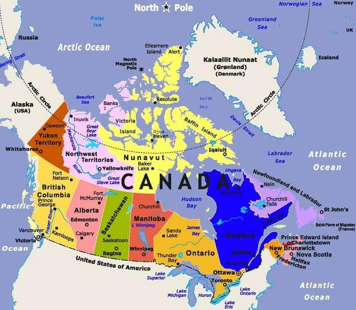 Как канадцы шутят и отвечают на колкости американцев-12 фото + 2 гиф-