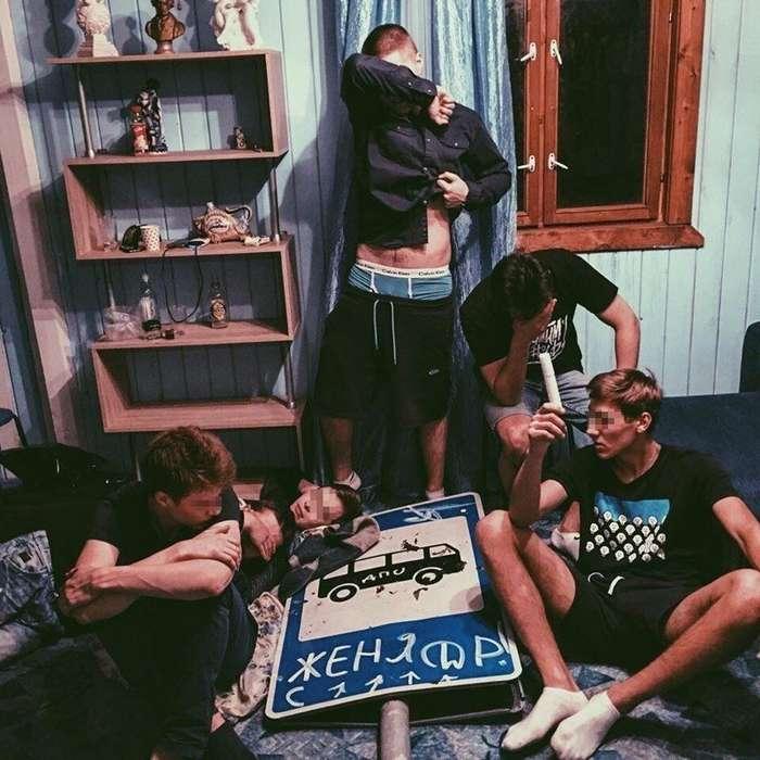 Реальные фотографии с российских вечеринок, на которых что-то пошло не так-28 фото-