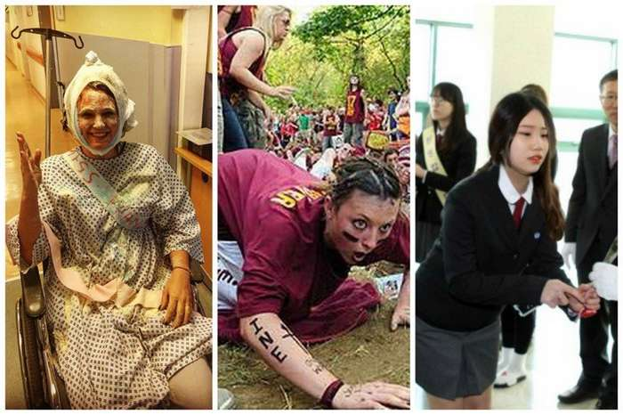 Даешь, молодежь! Как отмечают день первокурсника в разных странах-18 фото + 1 видео-
